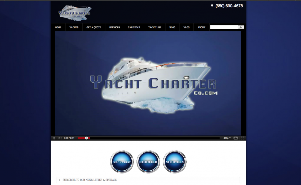 Yacht Charter Co Website Pages | San Francisco Yacht Charter (1)