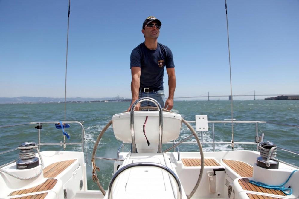 TRANQUILO SAILING YACHT | YACHT CHARTER SF | SAN FRANCISCO YACHT | PIER 39 | JEANEUA 43' | SAILING YACHT